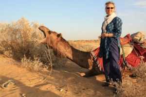 Meryl and her Camel IMG_2336