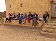 Desert girls at Kuldara - desert ghost town
