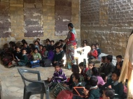 Lal baharu Shastri primary school classroom