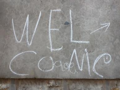 Welcome Lal baharu Shastri primary school in Jaisalmer