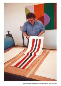 Hugh Stoneman printing a Terry Frost