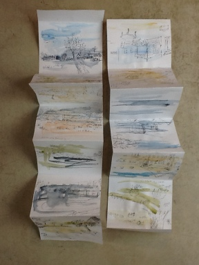 Roswitha Claxton sketchbook