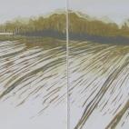Arran Miles - 'Spring Light - Rabley Landscape'