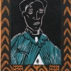 Grizzie Elliott - 'Edgar' (Black:orange frame)
