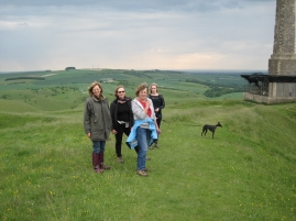 Group walk to Cherhill