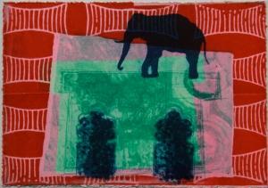 Meryl Setchell Ainslie - 'Elephant House'
