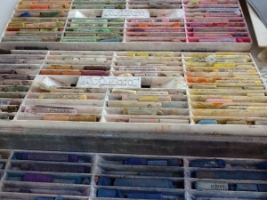 Array of pastels