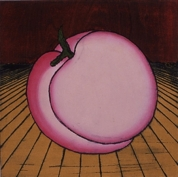 Nana Shiomi, Mitate Series Peach, woodcut