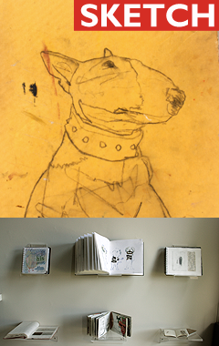 Sketch touring sketchbook exhibition