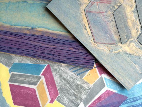 Catherine's blocks and prints