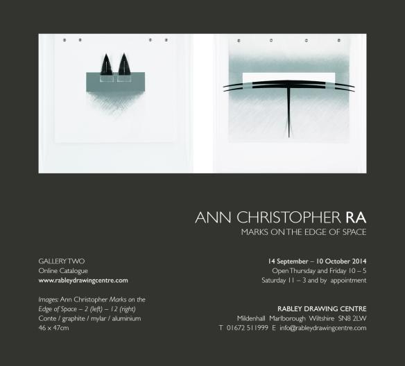 ECard Rabley Exhibition Sept 14 Ann Christopher
