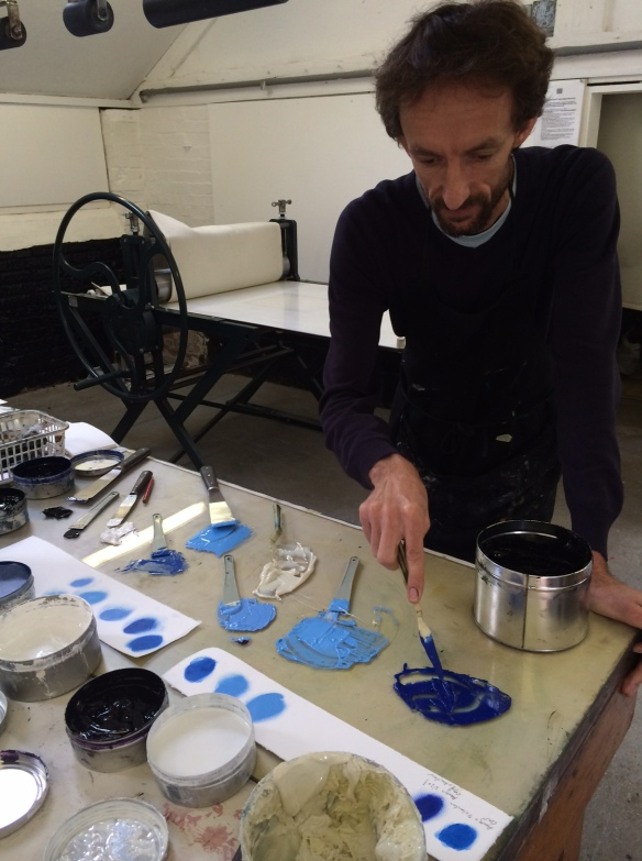 3 Nik Preparing Colours for 'Broad Bodied Chaser'