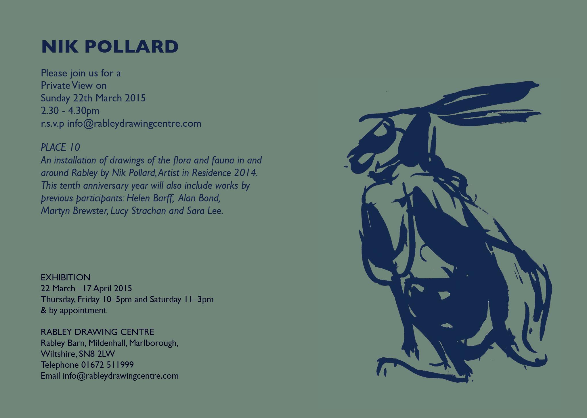 E INVITE Nik Pollard