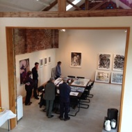 Nik Pollard talks about his work in the gallery