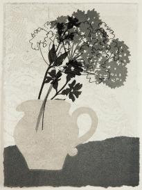 Rosemary Farrer, 'Little Grey Jug', Monoprint
