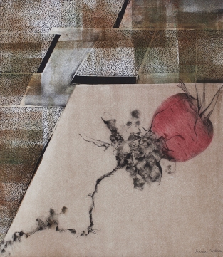 Serena Nickson, 'Veg Patch', Collagraph & photopolymer gravure