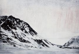 Emma Stibbon RA, Refuge 2016, Intaglio print