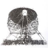 Ian Chamberlain 'Transmission V' 2018 (detail), etching