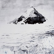 Emma Stibbon RA 'Nunatak' (detail)