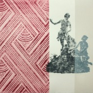 Naomi Frears 'Just Passing Through' (detail)